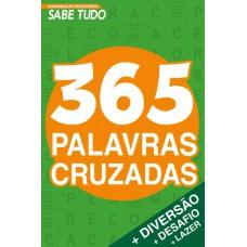 Almanaque Passatempos Sabe-Tudo 365 Palavras Cruzadas