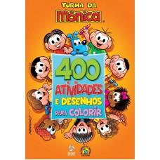 Turma da Mônica Livro 400 Atividades e Desenhos para Colorir