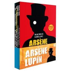 Coleção Arsène Lupin - 04 livros