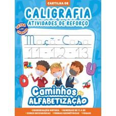 Cartilha Caminhos da Alfabetização - Caligrafia e Atividades de Reforço Vol. 02