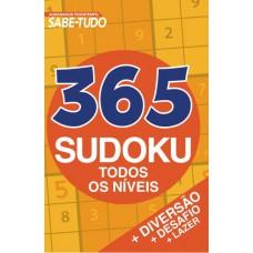 Almanaque Passatempos Sabe-Tudo 365 Sudoku