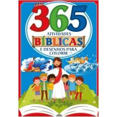 Bíblicas Livro 365 Atividades e Desenhos para Colorir
