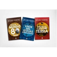Coleção Júlio Verne - 3 Livros