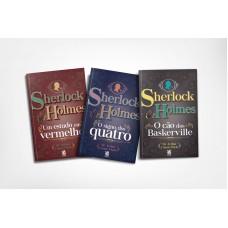 Coleção Sherlock Holmes - 3 Livros