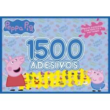 Peppa Pig Prancheta para Colorir com 1500 adesivos 01