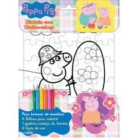 Peppa Pig - Diversão com Quebra-Cabeça