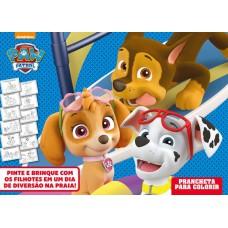 Patrulha Canina Prancheta Para Colorir 02