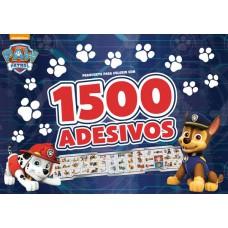 Patrulha Canina Prancheta Para Colorir Com 1500 Adesivos 01