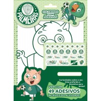 Palmeiras - Colorindo com Adesivos