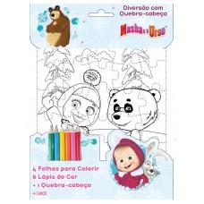 Masha e o Urso - Diversão com Quebra-Cabeça