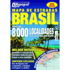 Mapa de Estradas - Brasil