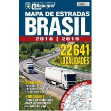 Mapa de Estradas - Brasil 2018/2019