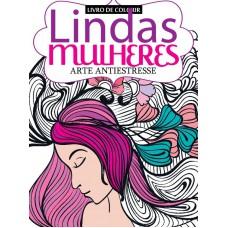 Livro para Colorir Lindas Mulheres