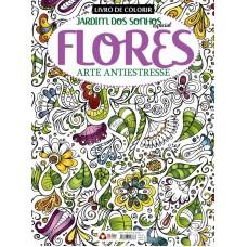 Livro de Colorir Antiestresse - Flores
