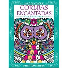 Livro de Colorir Antiestresse - Corujas Encantadas