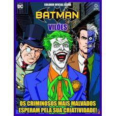 Vilões DC - Colorir Oficial Extra