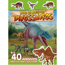 Dinossauros - Livro de Adesivos 03