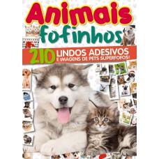 Animais Fofinhos - Livro de Adesivos