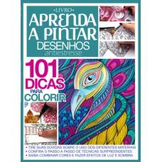 Livro Aprenda A Pintar Desenhos Antiestresse 01