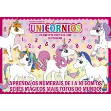 Unicórnio Prancheta Para Colorir Superserie 13
